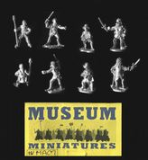 Museum Miniatures 15mm Medieval MA07 Gun Crew (x 8 figs)